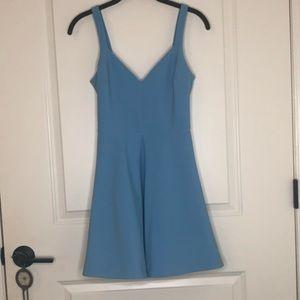 Likely V neck Skater Dress